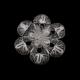 Akyüz Gümüş Çiçek İşlemeli Telkari Gümüş Broş Brs010
