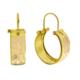 Tuğrul Kuyumculuk Altın Taşsız Küpe T030934