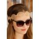 Morvizyon Bronz Renk Hasır Model Bayan Saç Bandı Sc119