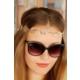 Morvizyon Helen Model Dore Yaprak Figürlü Bayan Saç Bandı