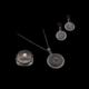Akyüz Gümüş Telkari Gümüş Set Stt016