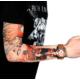 Modaroma Buz Hokeyi Desenli Giyilebilir Dövme
