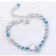 Monemel Mavi Swarovski® Taşlı Yıldız Bileklik
