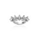 OJA Diamond 3,50 Karat HRD Sertifikalı E Renk Pırlanta Beştaş Yüzük