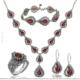 Çağrı Gümüş Mardin Gümüş Telkari Gerdanlık Set Takı