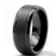 Chavin Erkek Mat Siyah Fırçalanmış Tungsten Yüzük Dm78 16