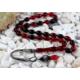 Tesbihevim Karışık Renk Sıkma Kehribar Tesbih 1000 Ayar Gümüş Kazaz Püsküllü Kht-607