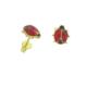 Asitantakı 14 Ayar Altın Uğur Böceği Küpe Astnalt58