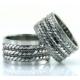 Berk Kuyumculuk Gümüş Alyans 6002(Çift)