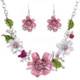 Myfavori Takı Seti Vahşi Çiçekler Kolye Set Takı