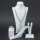 Takıhan 925 Ayar Gümüş Zirkon Taşlı Kalp Model Set