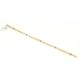 Nusret Takı 22 Ayar Altın Nazar Boncuk Model İnce Bileklik