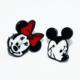 Cadının Dükkanı Mickey-Minnie Mouse Çocuk Küpe Bcehnwx66