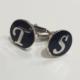 Şahin Gümüş 925 Ayar Gümüş Harfli Kol Düğmesi Defmpy78