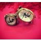 Şahin Gümüş 925 Ayar Gümüş Arapça İsimli Çift Yüzüğü 22 - 13