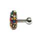 Cadının Dükkanı 316 L Cerrahi Çelik Çok Taşlı Tragus-Helix-Kulak Piercing Acfkuz57