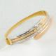 Favori Gold Üç Renkli İtalyan Altın Bilezik
