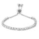Lio Jewels 925 Ayar Altın Kaplama Gümüş Sıra Taşlı Su Yolu Ayarlanabilir Tel Bilezik