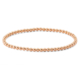 Lio Jewels 925 Ayar Altın Kaplama Gümüş Topçuklu Bileklik