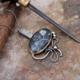 Sümer Telkari El Yapımı Zülfikar Gümüş Kol Düğmesi 66