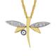 Altınsepeti Gözlü Yusufçuk Altın Kolye As389Kl