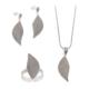 Akyüz Gümüş Yaprak İşlemeli Telkari Gümüş Set