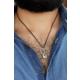 Çınar E-Ticaret Çelik Tasarım Bozkurt Figürlü Erkek Kolye 630435