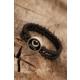 Çınar E-Ticaret Siyah Renk Oniks Erkek Doğal Taş Bileklik 934139