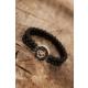 Çınar E-Ticaret Siyah Renk Oniks Erkek Doğal Taş Bileklik 934140