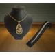 Forentina Allah Yazılı Madalyon Kolye Bileklik Fr0501