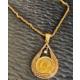 Forentina Ay Yıldız Madalyon Kolye Fr0506