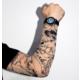 Modaroma Kurt Figürlü Giyilebilir Dövme D27