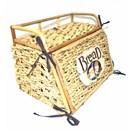 Cosıness Onden Kapaklı Hasır Ekmek Sepeti - Natural