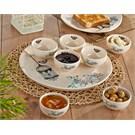 Keramika Set Hitit Kahvaltı 8 Parca Krem 030 Retro A