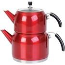 T-Design Kırmızı Çelik Çaydanlık