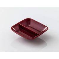 İkram Dünyası GastroPlast Sosluk - Reçellik 2 Bölmeli Kırmızı