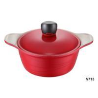 NEVA N713 Sweet Ceramica Kırmızı Derin Tencere 20 Cm