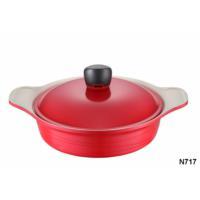 NEVA N717 Sweet Ceramica Kırmızı Karnıyarık Tencere 24 Cm
