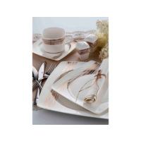 Taç Porselen Favorite Giona 86 Parça Bone Yemek Takımı - 90 Prç Çkb Seti ve 5li Granit Tencere Seti Hediyeli