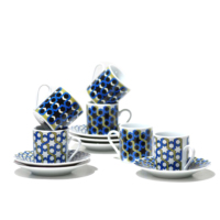 Dodo Destınatıons 6 Lı Çay Fincanı Seti Casablanca