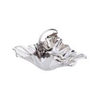 Antik Silver Üzüm Detaylı Kase + El Aynası Hediyeli