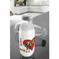 Herevin 2 Parça Süt Şişesi Pembe Kalpli İnekli 000SB