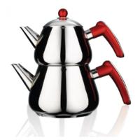 Emsan Bravo Çaydanlık Takımı Kırmızı