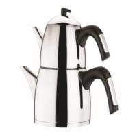 Laviva Calida Çelik Çaydanlık Siyah