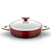 Taç Mutfak Seraline No 28 Basık Tencere Kırmızı