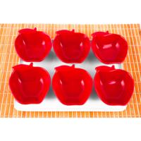 Evon Elma 6'lı Kahvaltılık Kırmızı