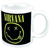 Rock Off Nirvana Smiley Kupa