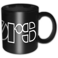 Rock Off The Doors Logo Black Kupa Bardak