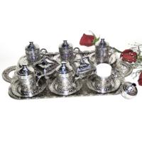 In my 6 lı Osmanlı Türk Kahve Seti Gümüş