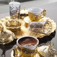 Sena Sultan Tiryaki Kahve Takımı İki Kişilik